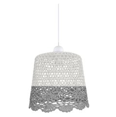 Ripplamp Candellux Nonna​, valge/hall