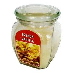 Lõhnaküünal klaaspurgis French Vanilla, vanill