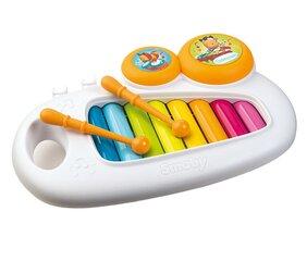 Laste ksülofon Smoby Cotoons, 7600110500 hind ja info | Imikute mänguasjad | kaup24.ee