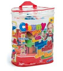 Klotsid Clementoni Clemmy Plus, 30 tk, kott