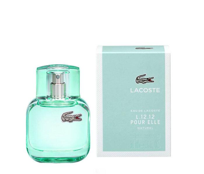 911fc0c8056f ... Tualettvesi Lacoste L.12.12 Pour Elle Natural EDT naistele 30 ml ...
