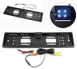 Numbrimärgis valgustusega tahavaatekaamera hind ja info | Parkimisabi süsteemid | kaup24.ee