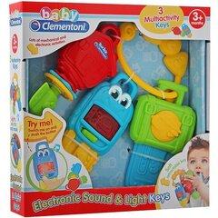 Mänguasi võtmed heli ja tuledega Clementoni hind ja info | Imikute mänguasjad | kaup24.ee
