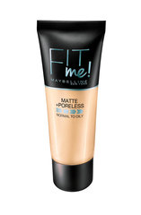 Vedel jumestuskreem Maybelline New York Fit Me! Matte & Poreless 30 ml