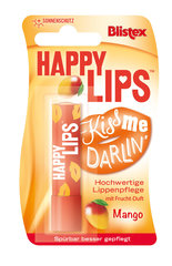 Huulepalsam Blistex Happy Lips Balm Stick Mango 3.7 g цена и информация | Huulepulgad, palsamid, huuleläiked | kaup24.ee