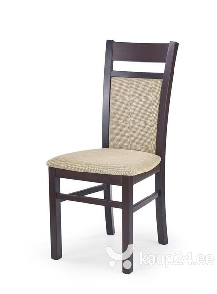2-osaline toolide komplekt Gerard 2, tume pähkel/kreem