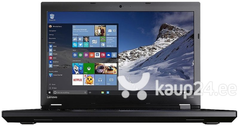 Sülearvuti Lenovo ThinkPad L560 20F10032MH