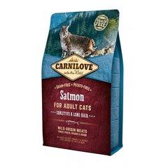 Carni Love kuivtoit pikakarvalistele ja tundliku seedimisega kassidele, lõhega, 400g