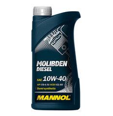 Poolsünteetiline mootoriõli Mannol Molibden Diesel 10W-40 1l