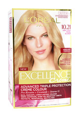 Kolmekordse kaitsega püsivärv L'Oreal Paris Excellence Crème Ultra-Light Natural Blonde hind ja info | Juuksevärv | kaup24.ee