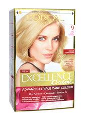 Kolmekordse kaitsega püsivärv L'Oreal Paris Excellence Crème Ultra-Light Natural Blonde