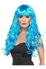 Sinine parukas hind ja info | Karnevali kostüümid | kaup24.ee