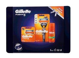 Komplekt Gillette Fusion 5: raseerija + raseerijapead + raseerimisgeel + sokid hind ja info | Raseerimisvahendid | kaup24.ee
