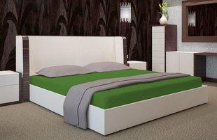 Kummiga voodilina Jersey 90x200 cm, roheline II