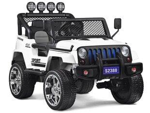 Elektriauto Jeep Sport, valge hind ja info | Elektriauto Jeep Sport, valge | kaup24.ee