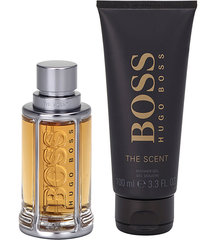 Komplekt Hugo Boss Boss The Scent: EDT meestele 100 ml + dušigeel 100 ml