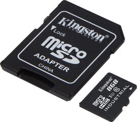 Mälukaart Kingston micro SD 8GB Class 10 U1 +adapter hind ja info | Mälukaart Kingston micro SD 8GB Class 10 U1 +adapter | kaup24.ee
