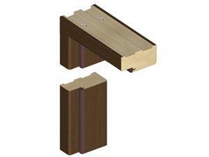 Standard uksepiit K70 44*90, pähkel (B473) hind