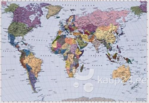 Fototapeet World Map