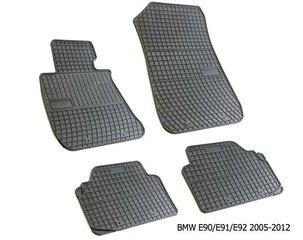 Резиновые коврики BMW E90/E91/E92 series 3 2005-2012 /4pc, 0661