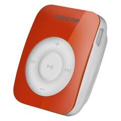 MP3-mängija Sencor SFP 1360 RD 4GB, 6h playback, oranž/valge