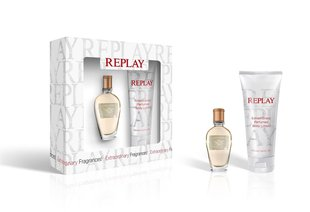 Komplekt Replay Jeans Spirit!: EDT naistele 20 ml + ihupiim 100 ml