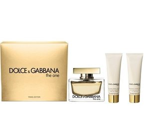 Komplekt Dolce & Gabbana The One: EDP naistele 75 ml + ihupiim 50 ml + dušigeel 50 ml