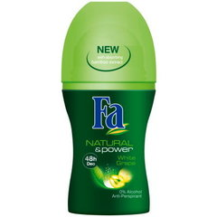 Rulldeodorant Fa Natural & Power 50 ml