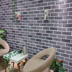 EPS seinapaneelid 3D tellisekujundusega vidaXL, 10 tk, must/hall hind ja info | Lae-, seinakaunistus elemendid | kaup24.ee