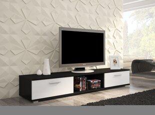 TV alus Stella, must/valge III hind ja info | TV alused | kaup24.ee