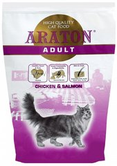 Kuivtoit kassidele ARATON Adult Salmon & Chicken 0,4 kg
