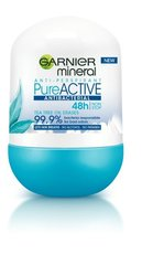 Rulldeodorant Garnier Pure Active 50 ml