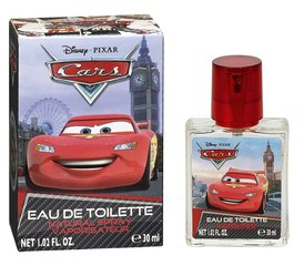 Tualettvesi Disney Cars EDT poistele 30 ml