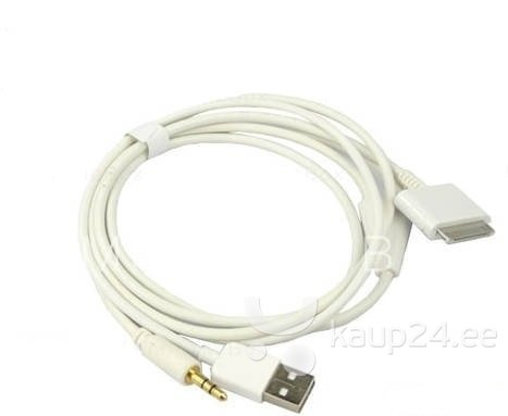 Pama USB/3,5 mm - iPhone audio kaabel