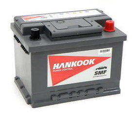 Акумулятор Hankook 80Ah 640A MF58043