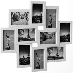 Pildiraam, 10 pilti цена и информация | Фоторамки | kaup24.ee