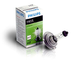 Pirn Philips LongLife H7 55W 12V PX26D