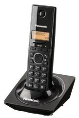 Lauatelefon Panasonic KX-TG1711FXB, must цена и информация | Стационарные телефоны | kaup24.ee