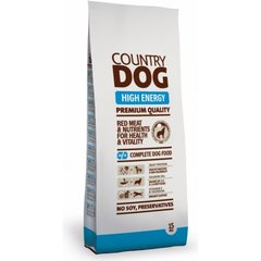 Kuivtoit koertele Country dog high energy, 15 kg