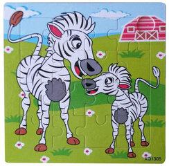 Puidust pusle Pareto Zebras