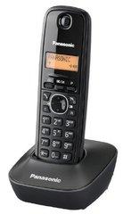 Lauatelefon Panasonic KX-TG1611FXH, must цена и информация | Стационарные телефоны | kaup24.ee