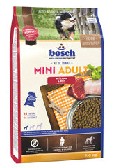 Kuivtoit koertele Bosch Mini Adult Lamb & Rice (High Premium) 3kg