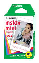 Fujifilm ColorFilm Instax Mini Glossy film (10 tk)