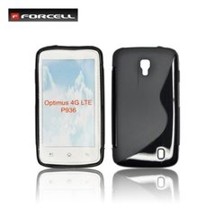 Kaitseümbris Forcell Back Case sobib LG Optimus LTE (P936), must
