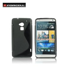 Kaitseümbris Forcell Back Case sobib HTC One Max T6, must