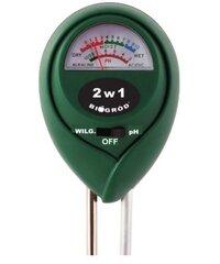 Измеритель кислотности (рН) и влажности почвы