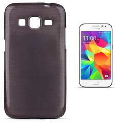 Kaitseümbris Forcell Jelly Brush Pearl Back Case sobib Samsung Galaxy Core Prime (G360, G361), must