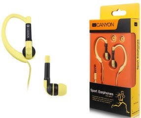 Kõrvakalpid Canyon CNS-SEP1Y Sport Headsets Yellow