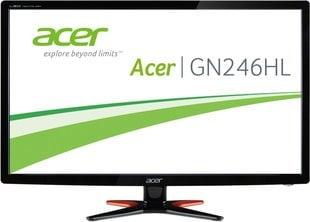 Monitor Acer GN246HLBBID 24'' hind ja info | Monitorid | kaup24.ee
