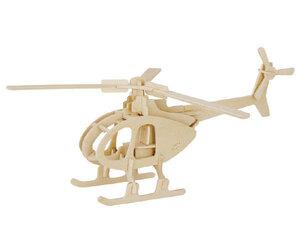 3D puidust pusle Helikopter 41537, 32 osa